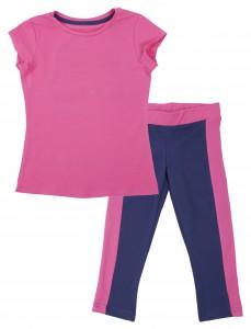 Pink home wear.